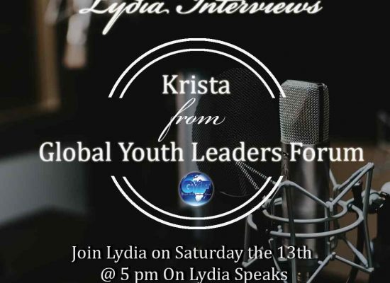Join Lydia this Sat